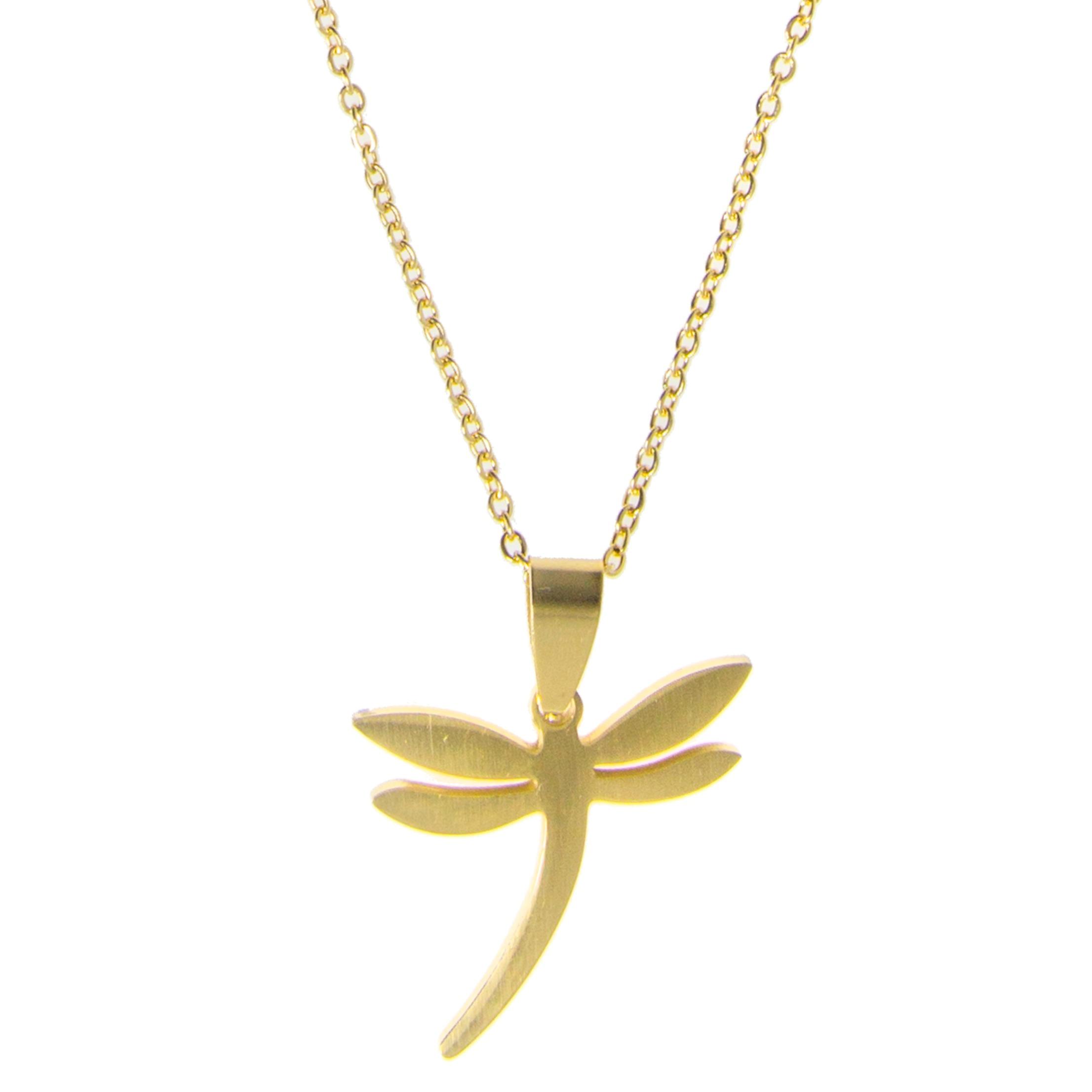 Collar-libélula-golden