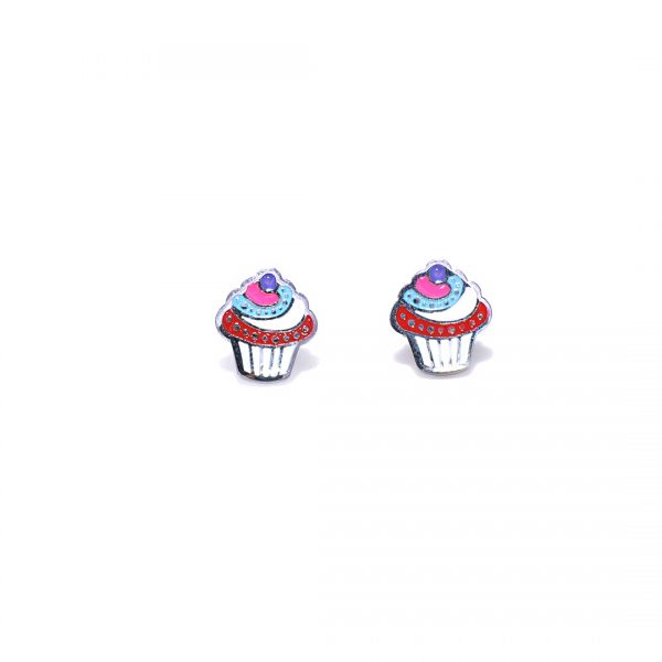 Pendientes-cup-cake