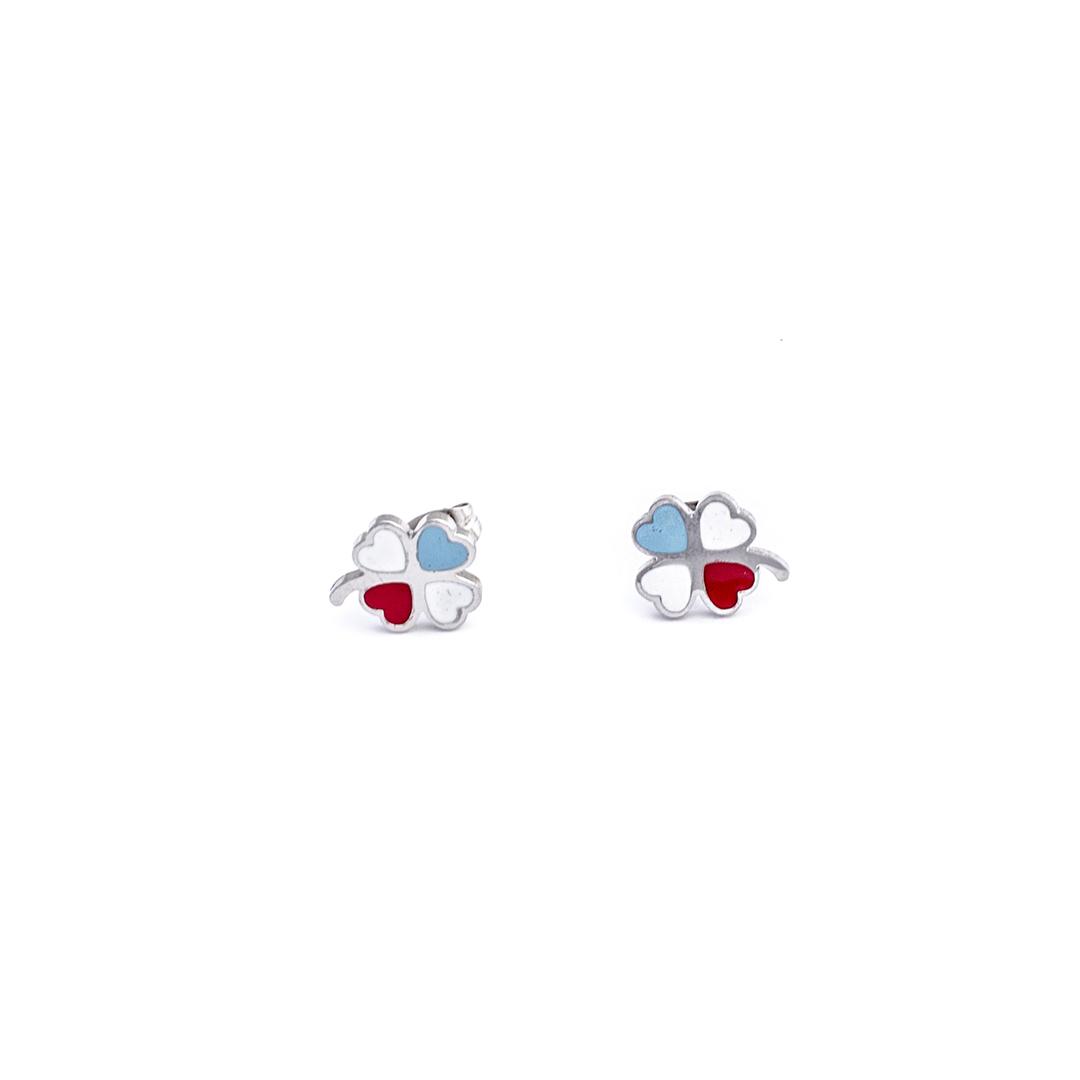 Pendientes-trebol-colors