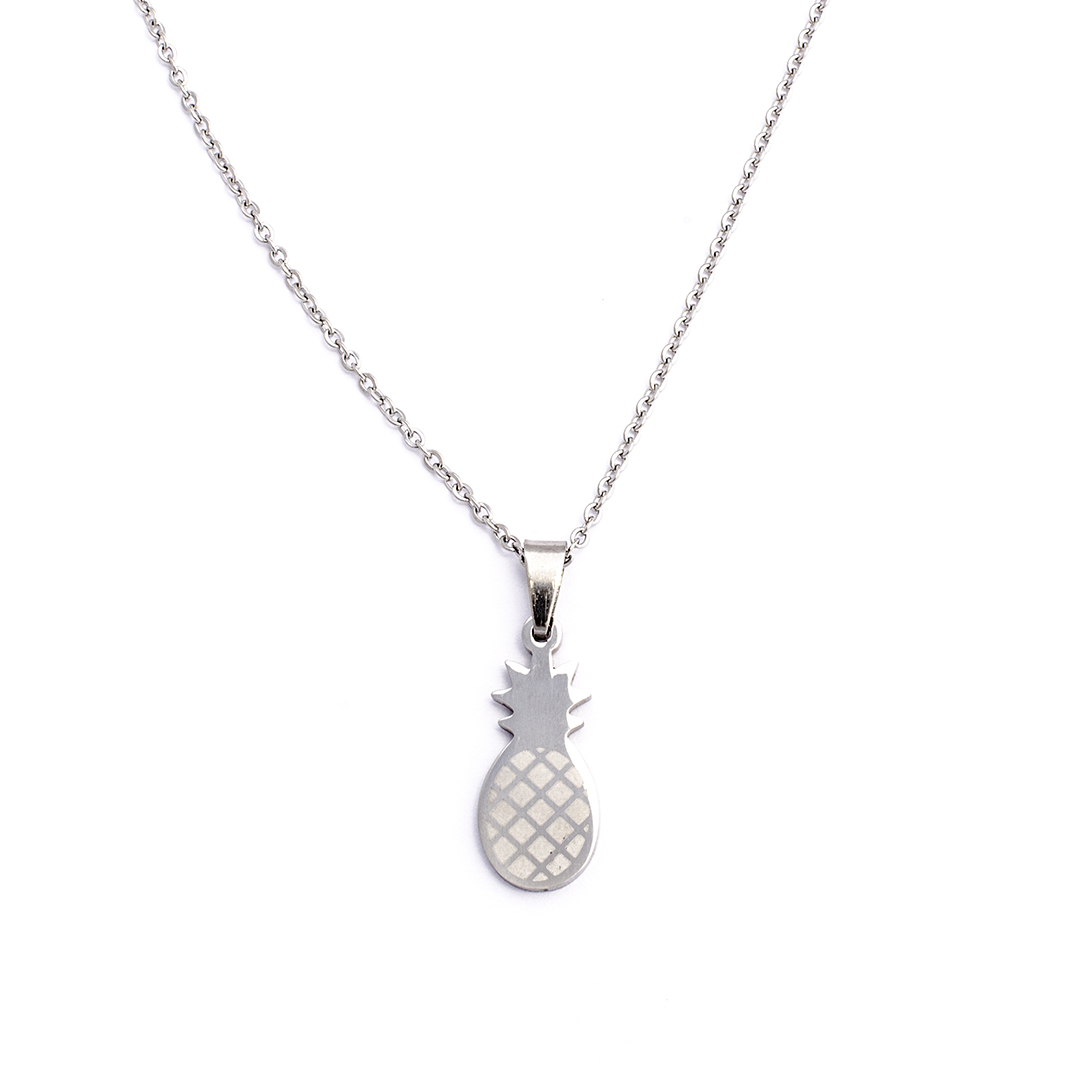 Collar-Pineapple-silvery