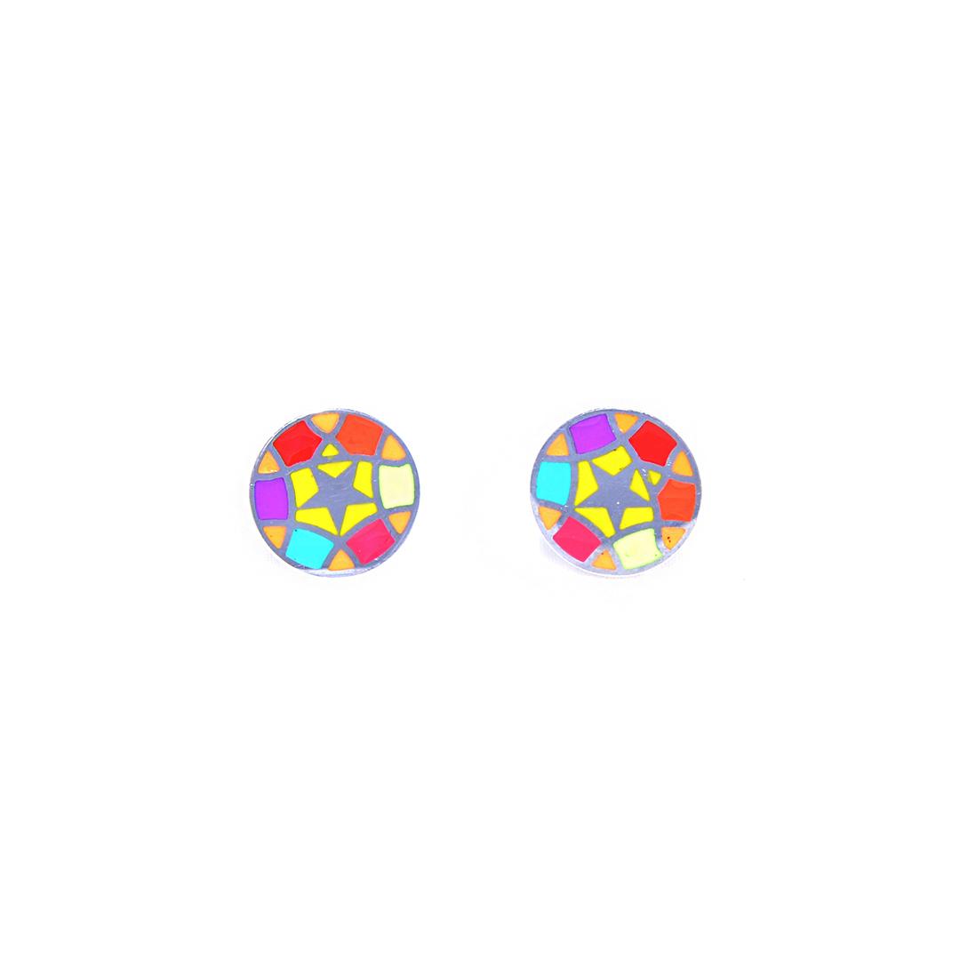 Pendientes-Star-Circle