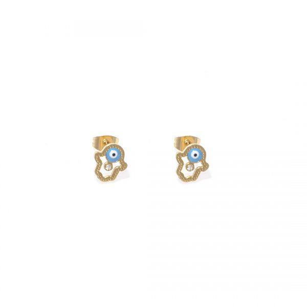 Pendientes-Minions-golden
