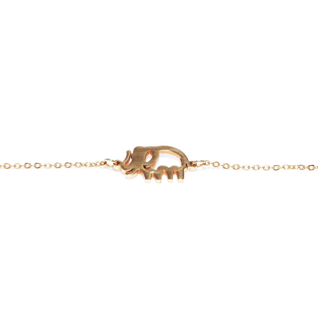Pulsera-Elephant-golden