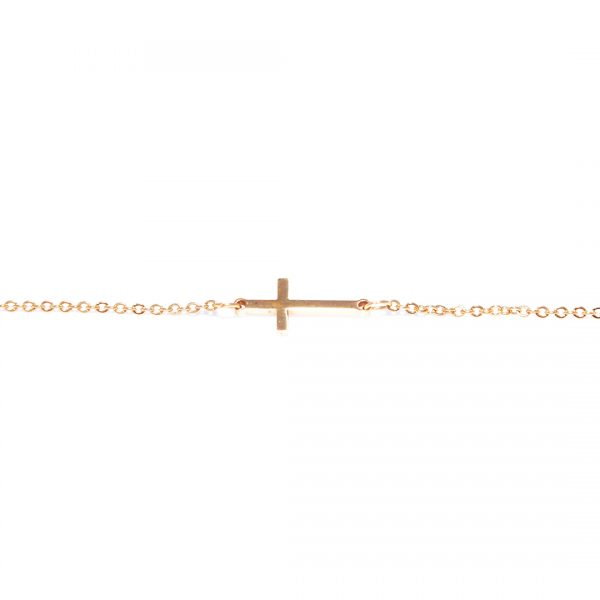 Pulsera-cross-golden