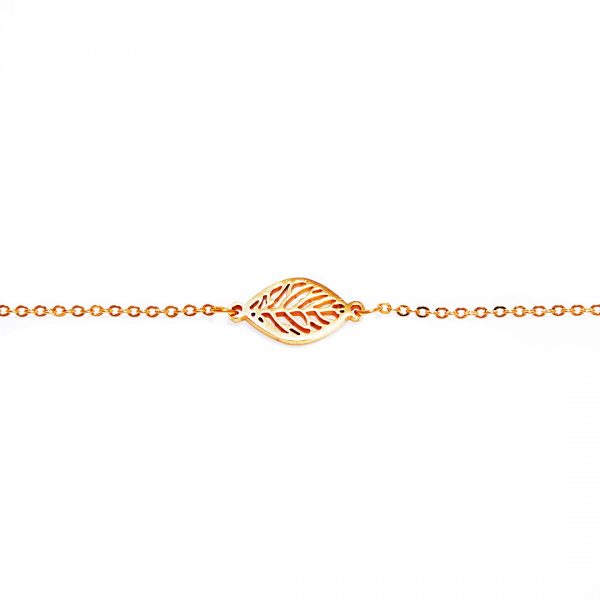 Pulsera-leaf-golden