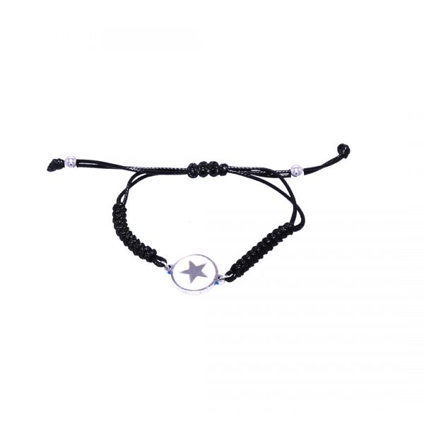 Pulsera-star-white