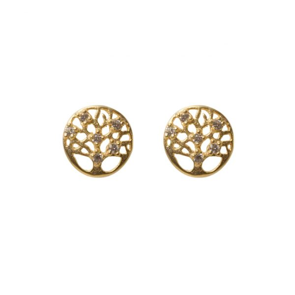 earrings-circle-nature