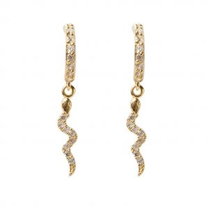 earrings-snake