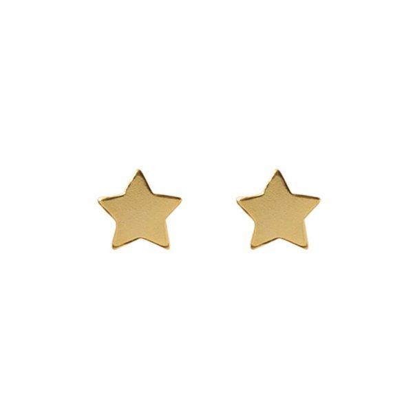 earrings-star-golden