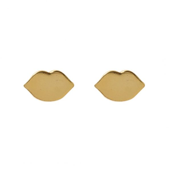 earrings-kiss-golden