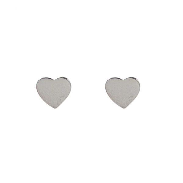 earrings-heart-silvery