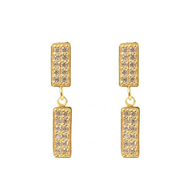 Earrings-double-rectangle