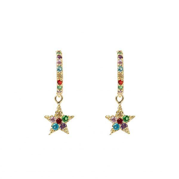 Earrings-star-long