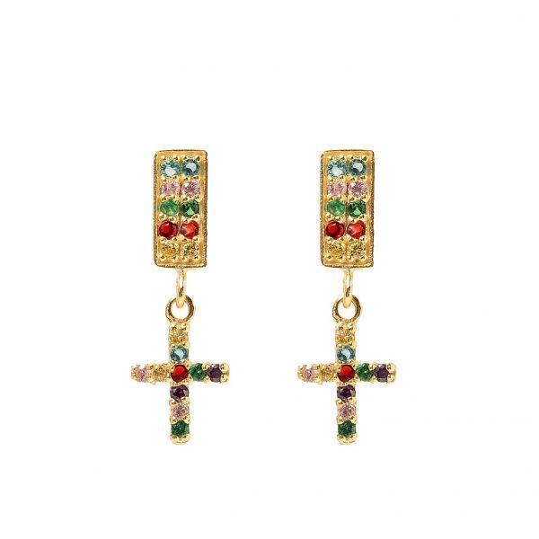 Earrings-cross