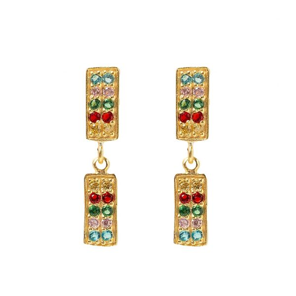 Earrings-double-rectangle-colors