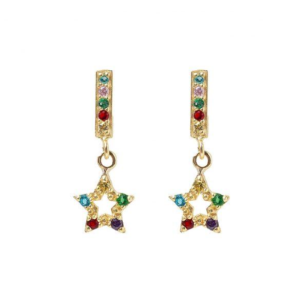 Earrings-star-of-colors