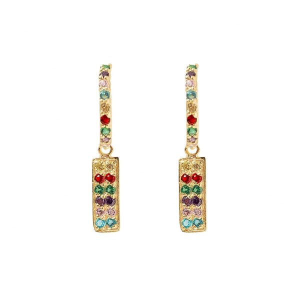 Earrings-rectangle-of-color