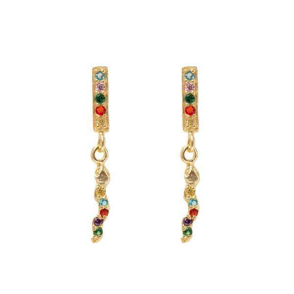 earrings-snake-of-colors