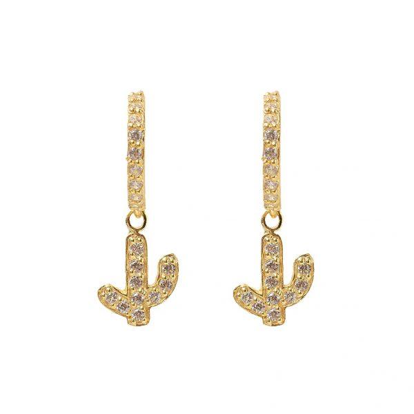Earrings-anchor-golden