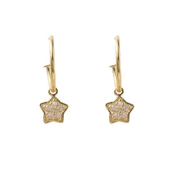 Earrings-star-flat