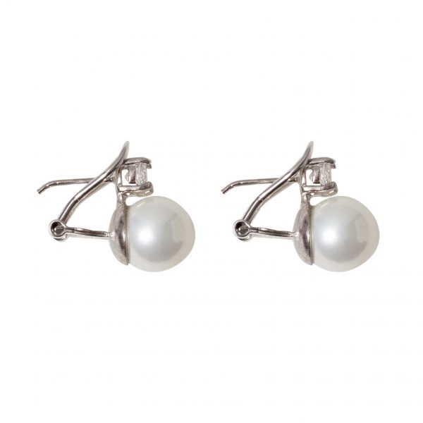 Earrings-pearl