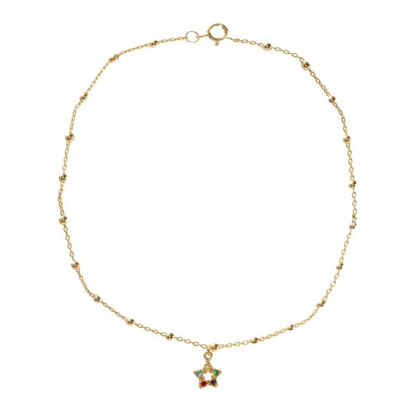 Anklet-star-of-colors