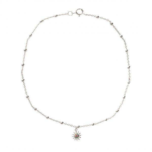 Anklet-sun-plated