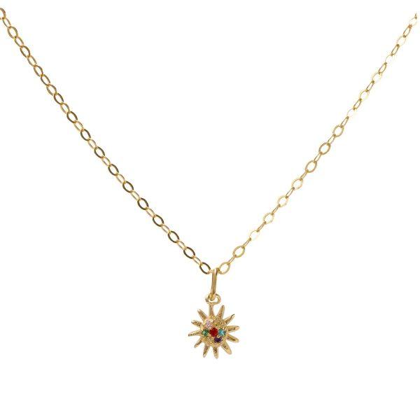 Necklace-sun