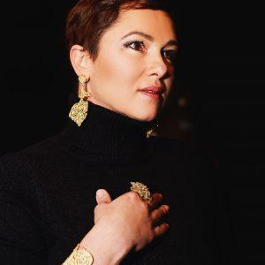 pendiente flamenca
