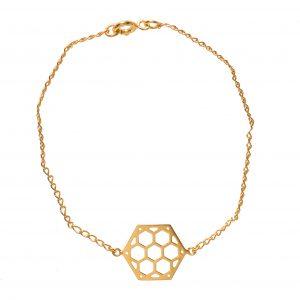 Pulsera-exágono-Bee