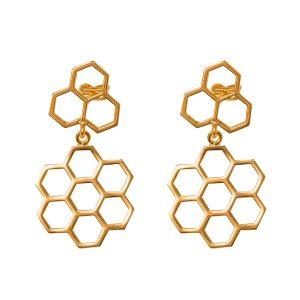 Bee-Happy-Honey-pendientes-medium