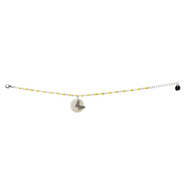 Barcelet de Mariposa Yellow