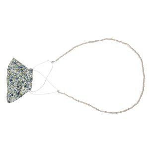 Sujeta Mascarilla Perla Blanca Multifunción